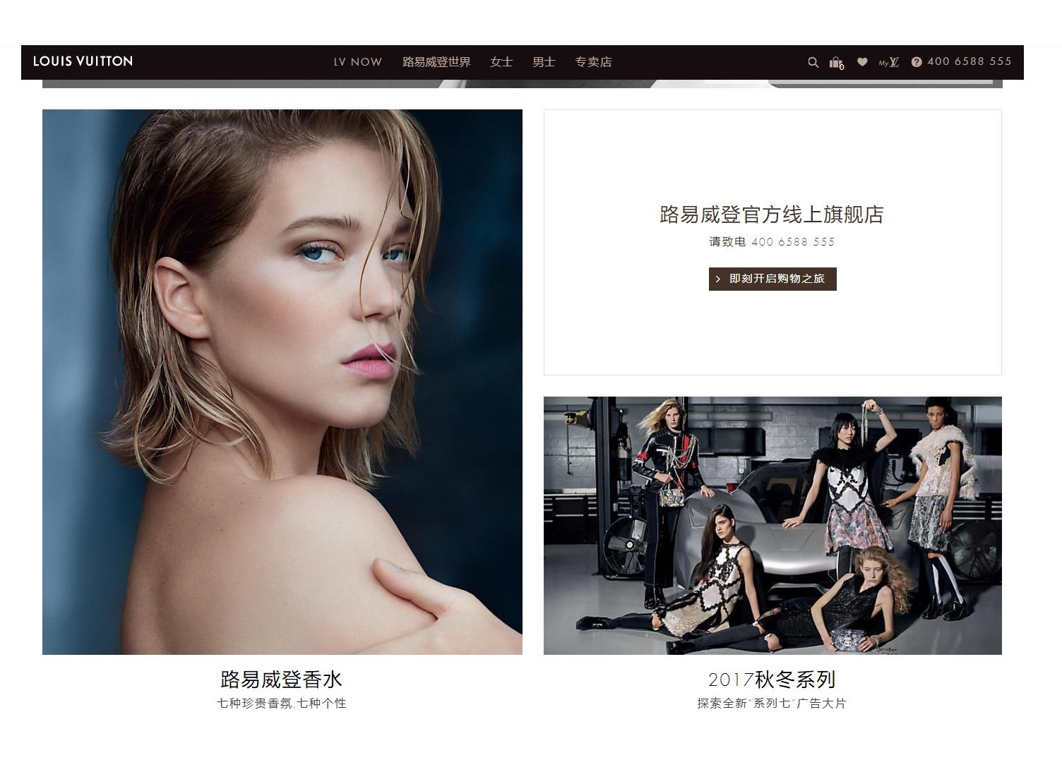 Ecommerce Louis Vuitton